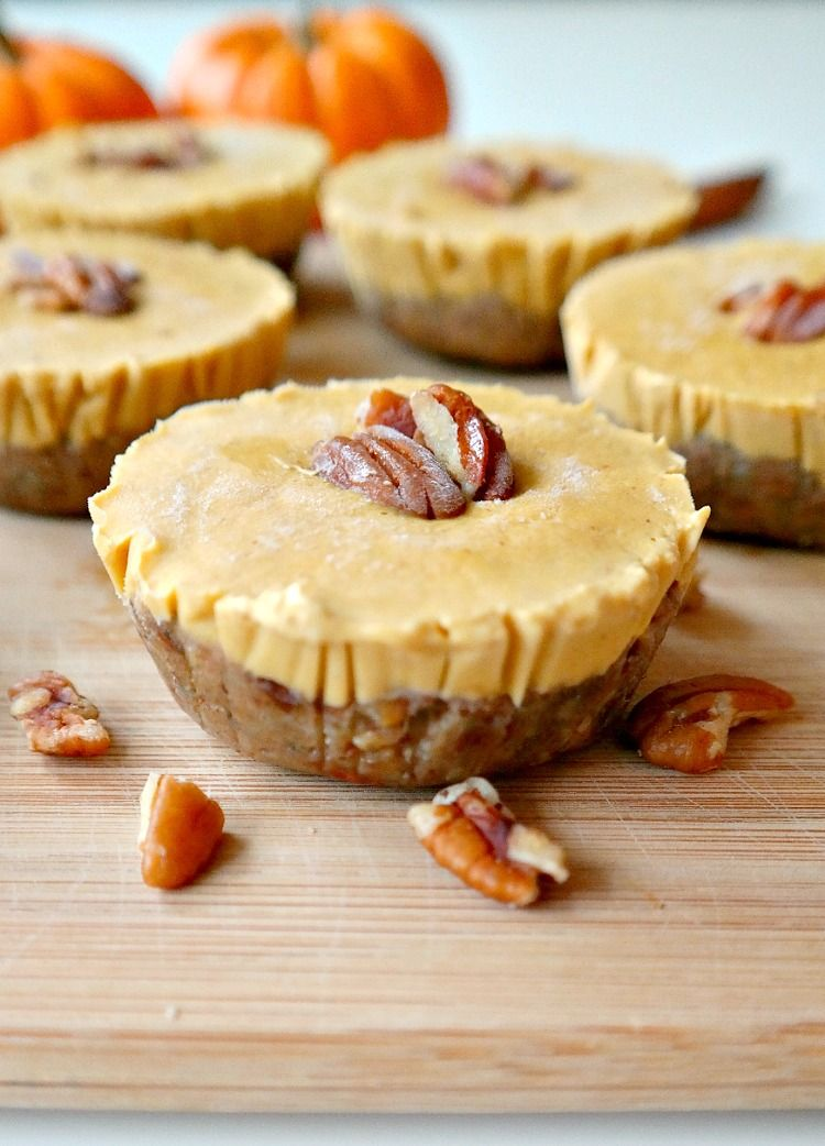 mini-vegan-pumpkin-pie-cheesecakes-via-the-glowing-fridge