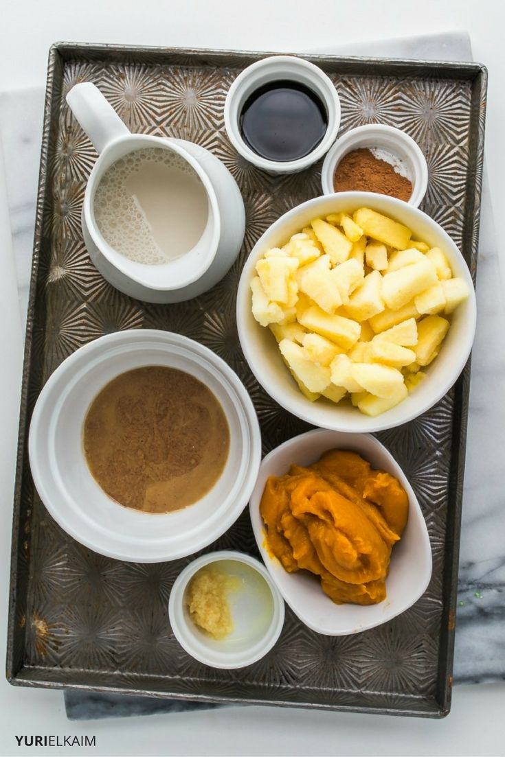 Pumpkin Smoothie Ingredients