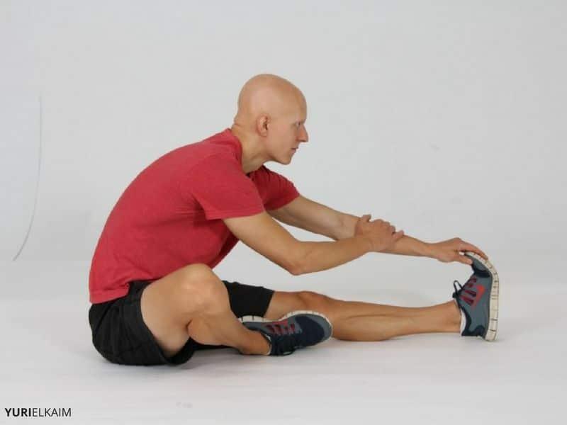 Single Leg Hamstring Stretch