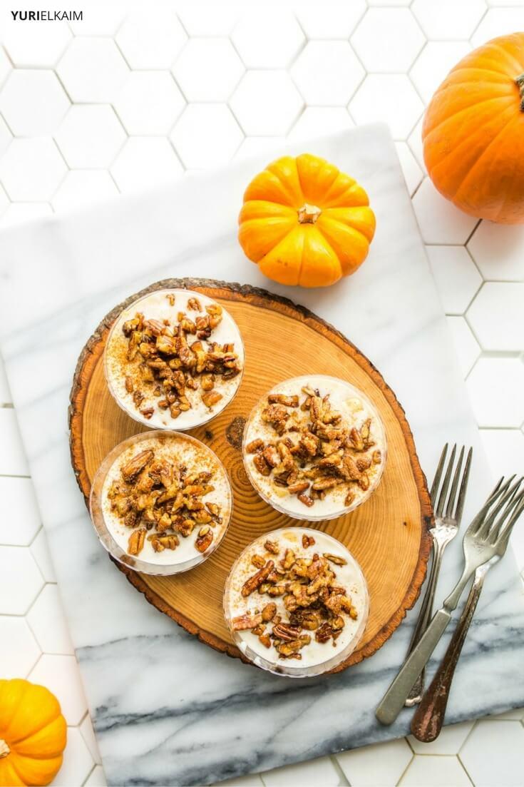 5-Ingredient Crustless Pumpkin Pie