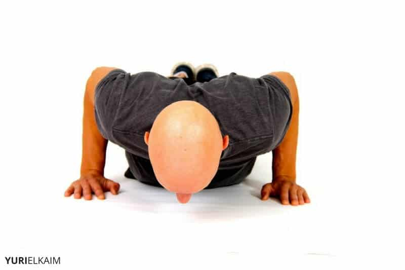 Concentric Movement Example - Bottom of Pushup