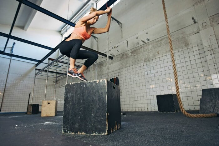 explosive-concentric-training - box jumps