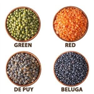 Iron-Rich Foods - Lentils
