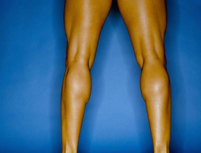 sculpted legs