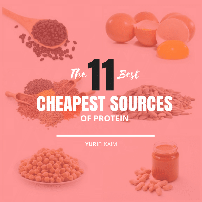 The Best and Cheapest Sources of Protein (Dairy-Free)