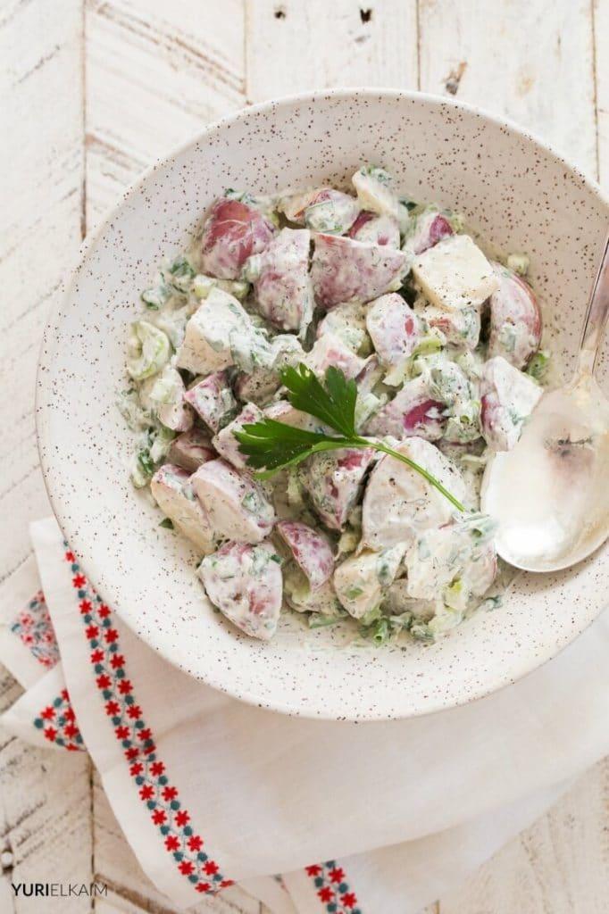 creamy-no-mayonnaise-potato-salad-paleo