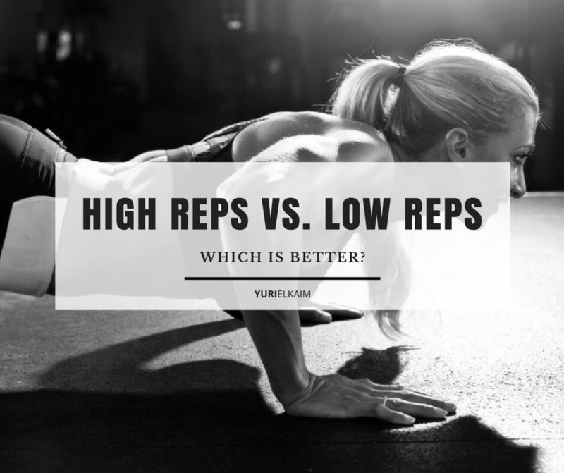 High Reps vs Low Reps for Losing Weight (Which Is Better?)
