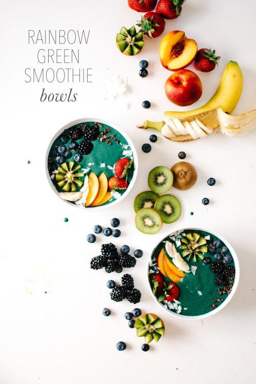 rainbow-green-smoothie-bowls-via-kale-and-caramel