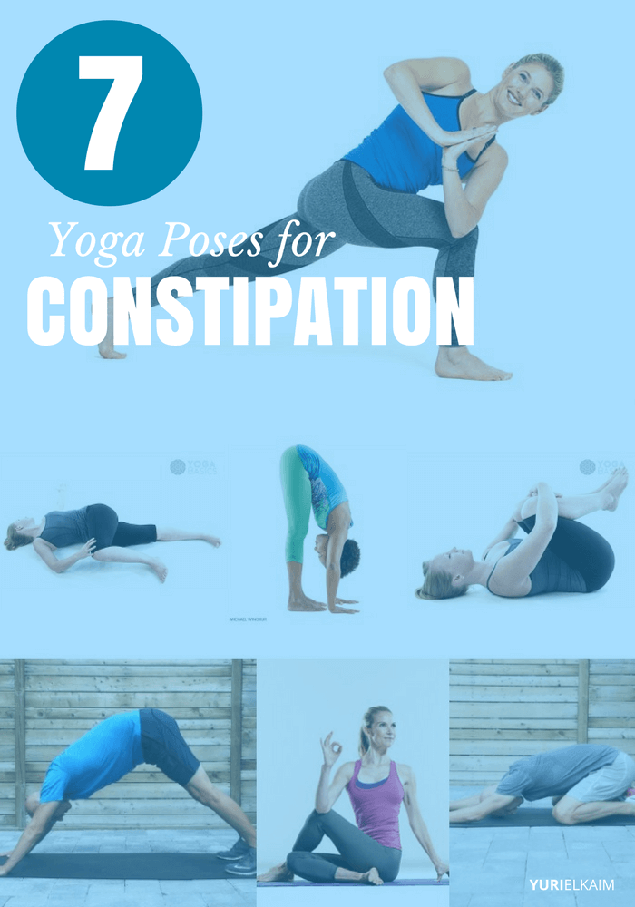 7 Yoga Poses for Constipation