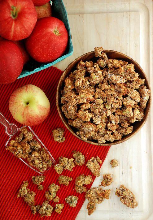 Apple Pie Paleo Granola via Multiply Delicious