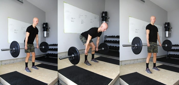 Barbell RDL