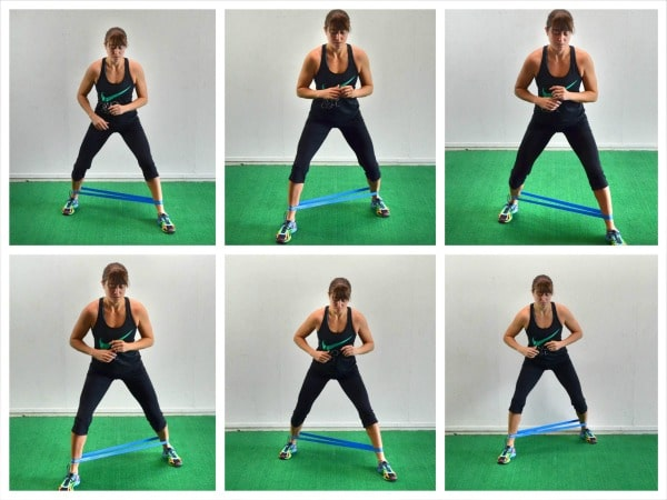 Glute Activation Exercises - Monster Walk