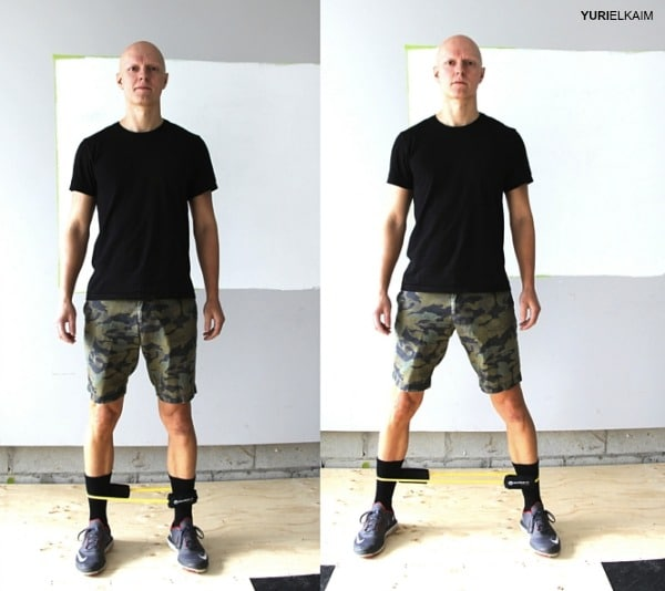 Glute Activation Exercises - Side Shuffle