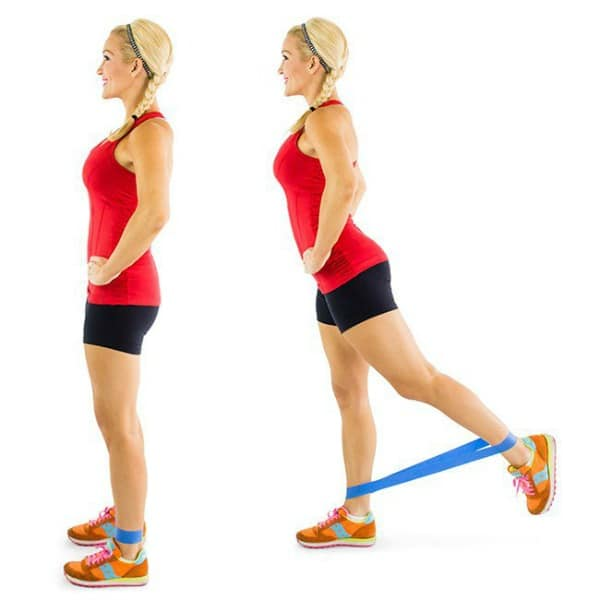 Glute Activation Exercises - Standing Kickbacks