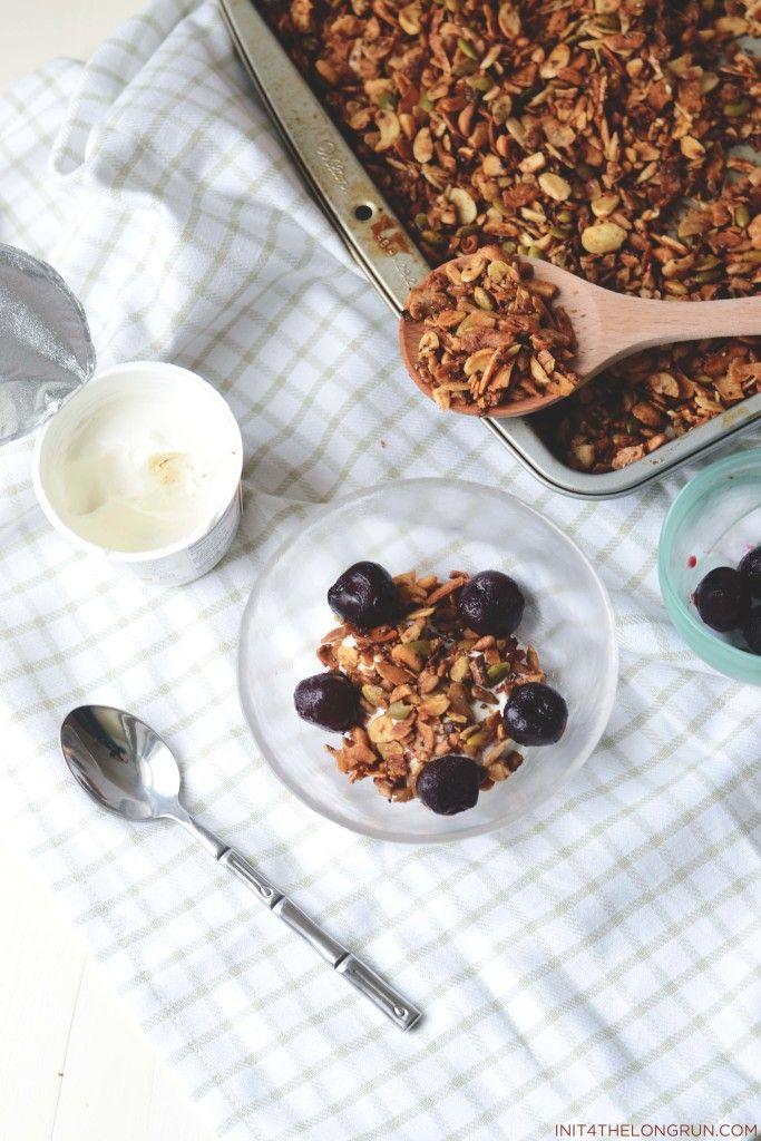 Grain-Free Granola via In It 4 the Long Run