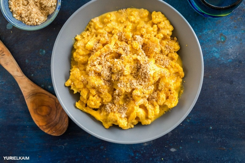 The Best Low Carb Mac and Cheese (Paleo, Vegan)