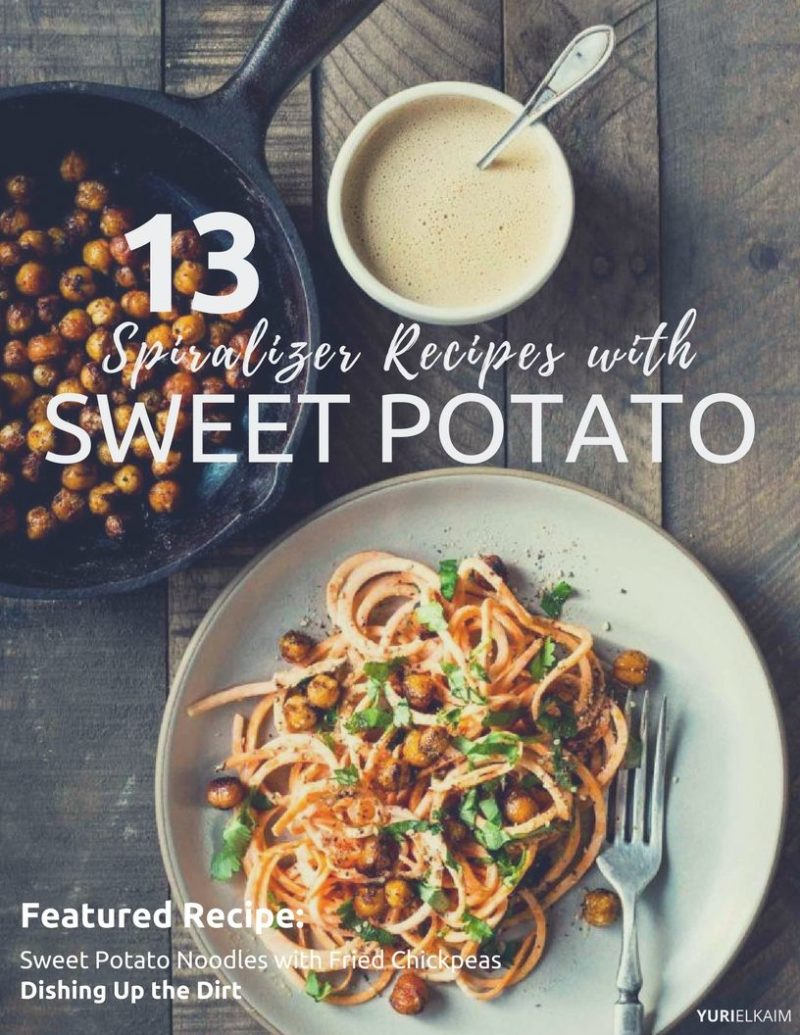 13 Awesome Spiralizer Sweet Potato Recipes