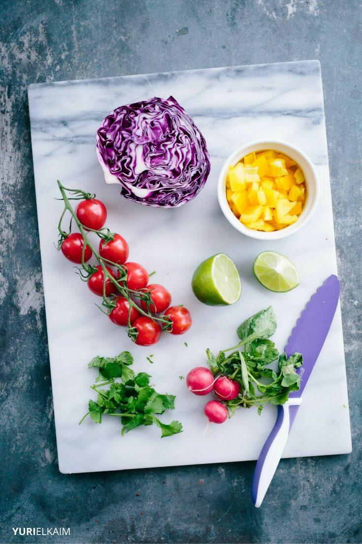 DIY Burrito Bowl Ingredients
