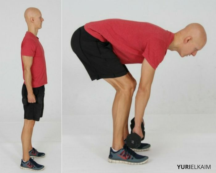Exercises to Strengthen Knees - DB Deadlifts