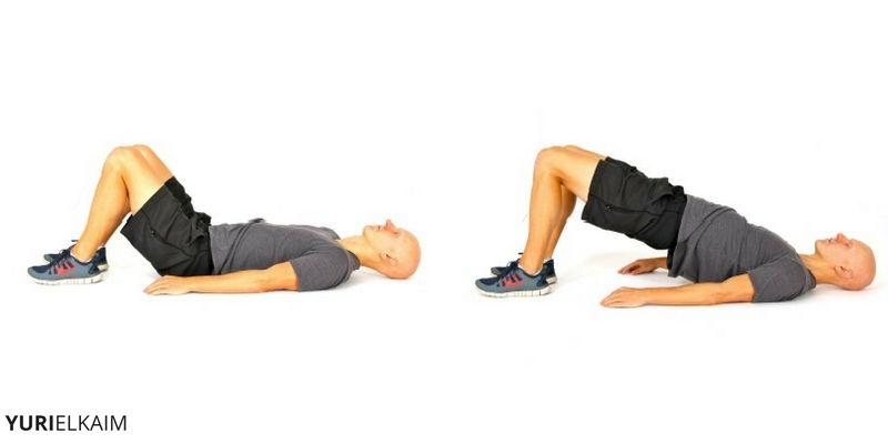 Exercises to Strengthen Knees - Glute Bridge