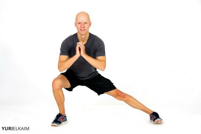 Lunge Variations - Lateral Lunge