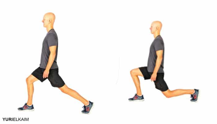 lunges și squats cu varice)