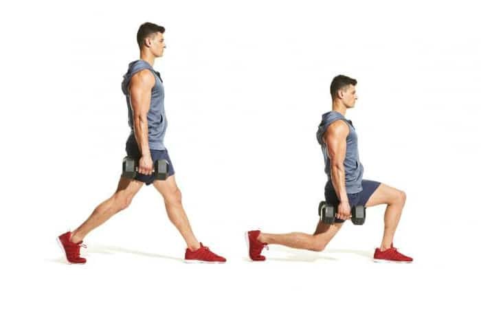 Lunge Variations - Stationary Lunge
