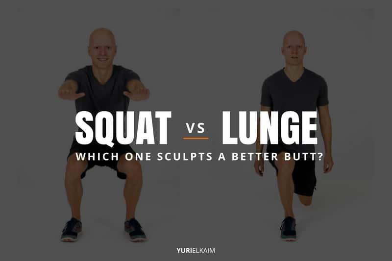 lunges și squats cu varice
