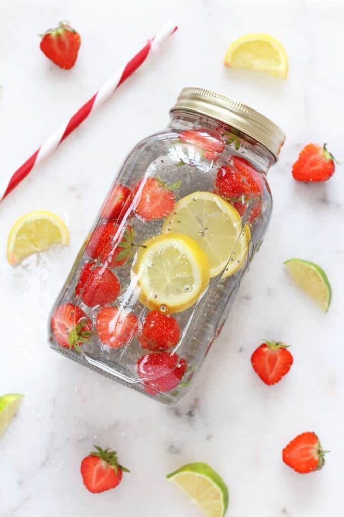 Chia Fruit Water via My Fussy Eater
