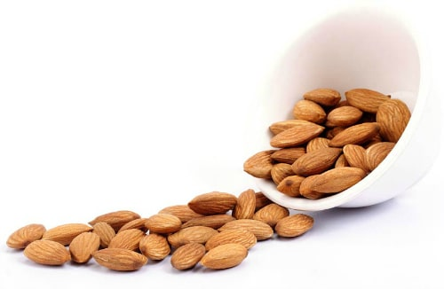 Foods Highest in Calcium - Almonds