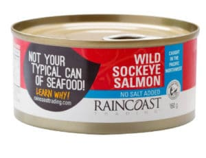 Foods Highest in Calcium - canned salmond