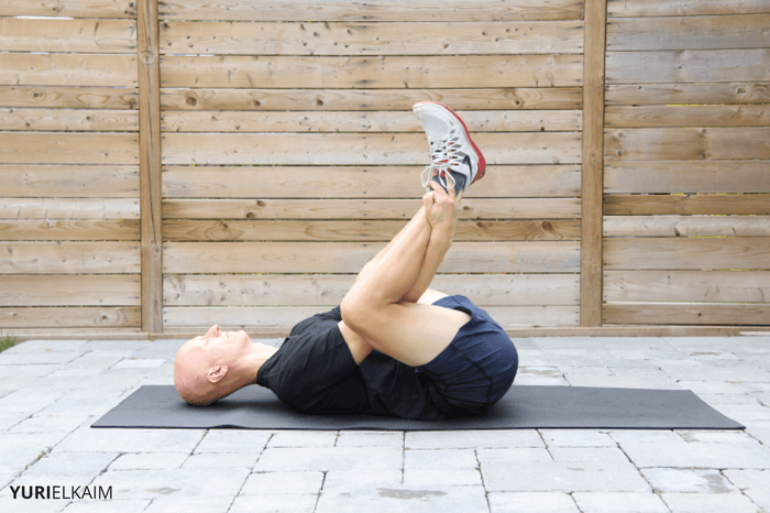 Yoga Hip Openers - Happy Baby Pose