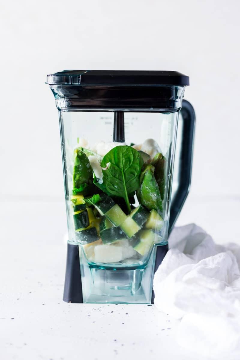 Shamrock Shake Recipe in a Blender