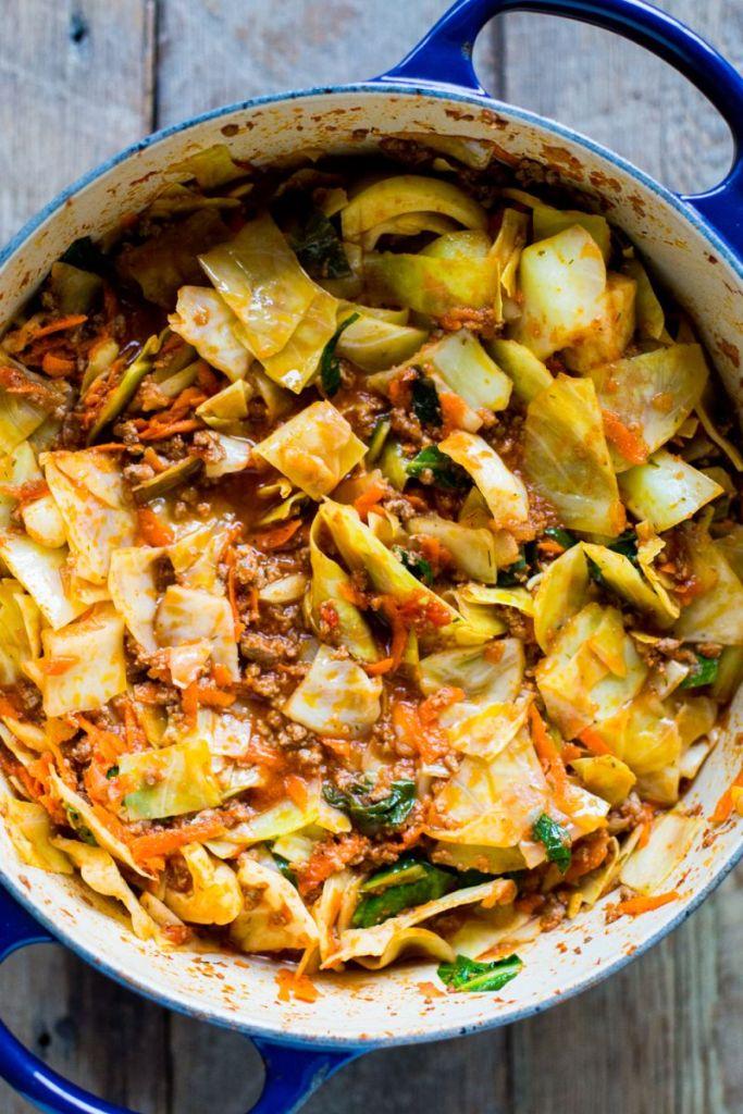 L-Glutamine - Cabbage Casserole