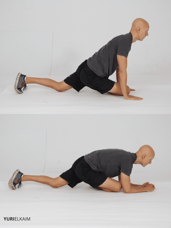 Pigeon Pose Sequence