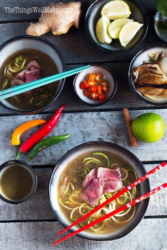 Vietnamese Soup - Paleo Pho via Oh the Things We'll Make