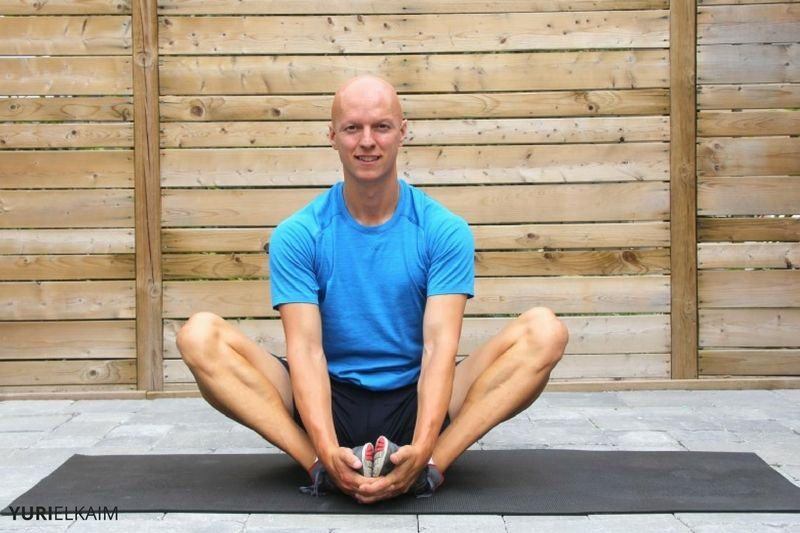 Yoga Hip Openers - Cobbler's Pose