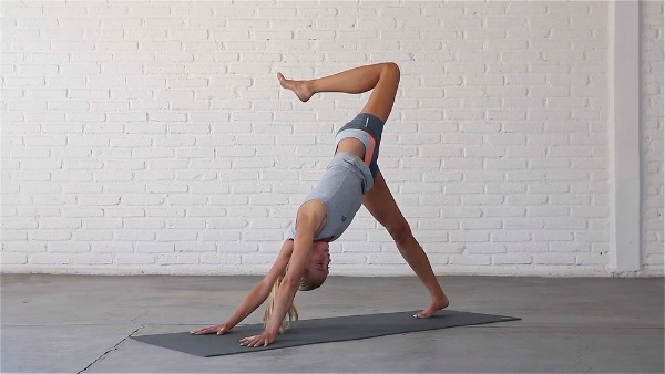 Yoga Hip Openers - Downward Dog Split