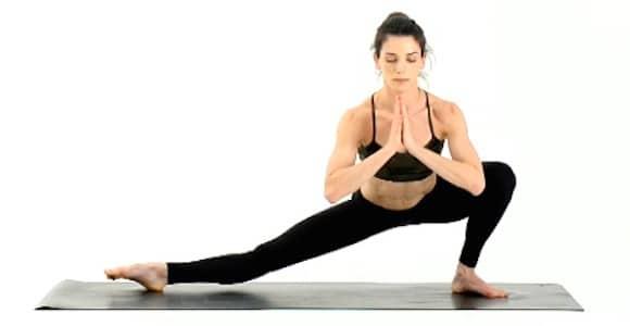 Yoga Hip Openers - Extended Leg Squat Pose