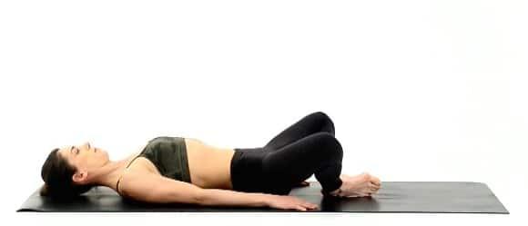 Yoga Hip Openers - Reclined Goddess Pose