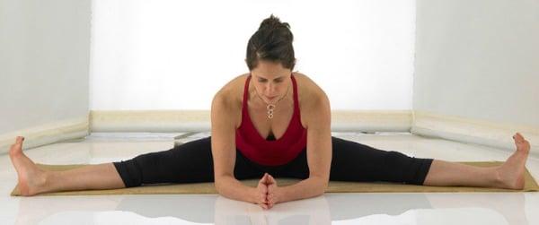Yoga Hip Openers - Seated Wide-Legged Forward Bend