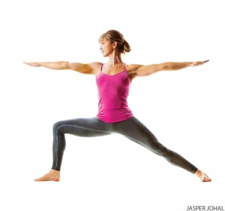 Yoga Hip Openers - Warrior 2