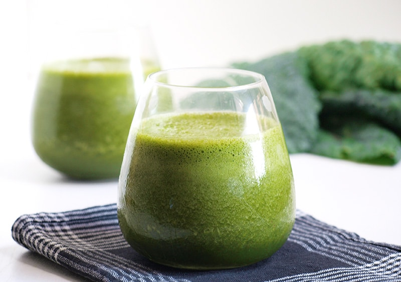 Protein Green Smoothie via Vegie Project