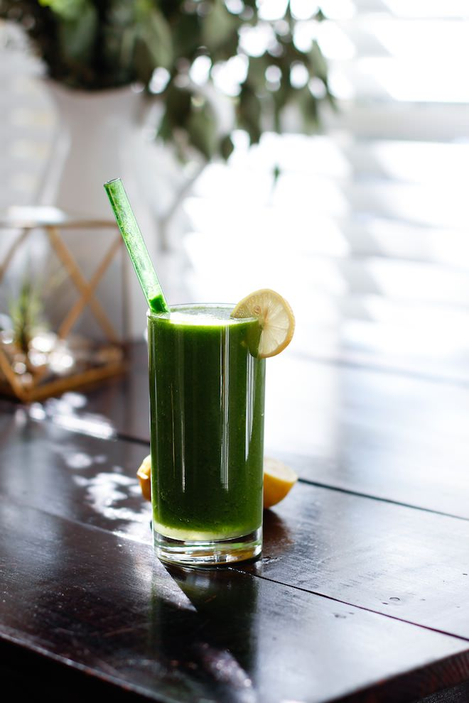 Green Tart Smoothie via Nutrition Stripped