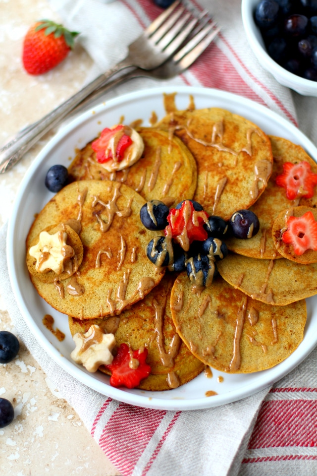 The Best Coconut Flour Pancakes via Kim's Cravings