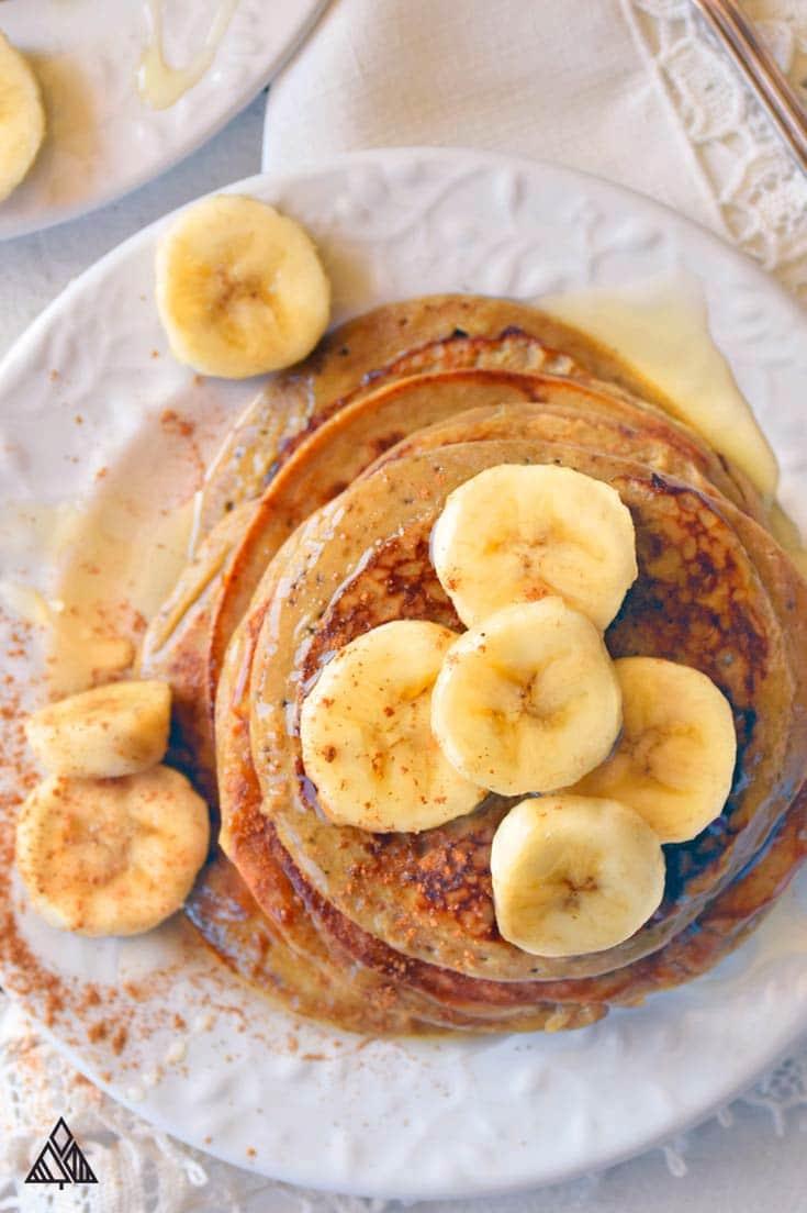 Perfect Paleo Pancakes via The Little Pine
