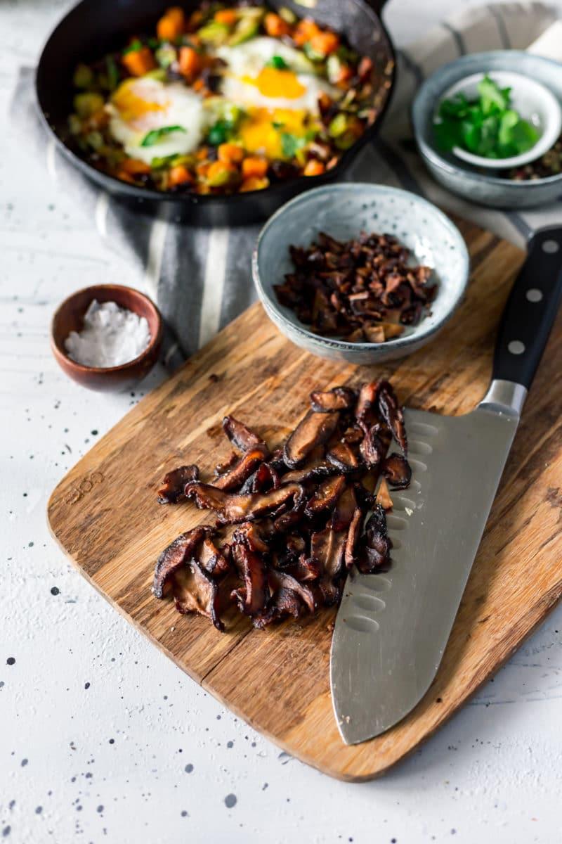The Healthier Way to Eat Bacon (Shiitake Bacon Recipe)