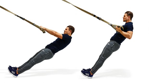 TRX Back and Core Workout via Oxygen Mag