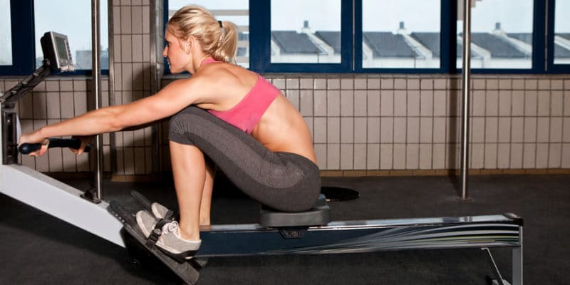Total-Body Rowing HIIT via Oxygen Mag