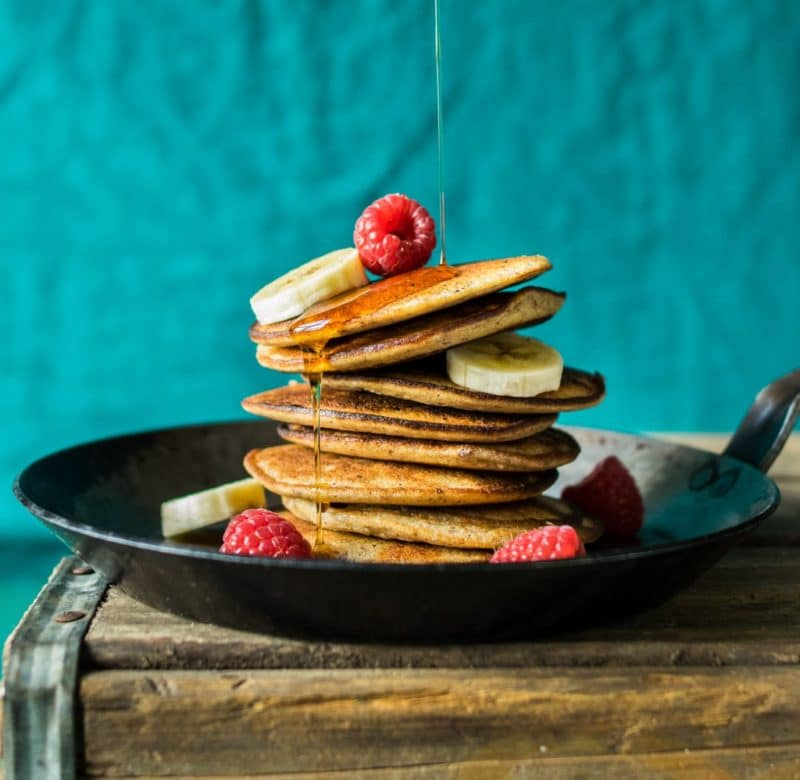 3-Ingredient Paleo Pancakes via Reclaiming Yesterday